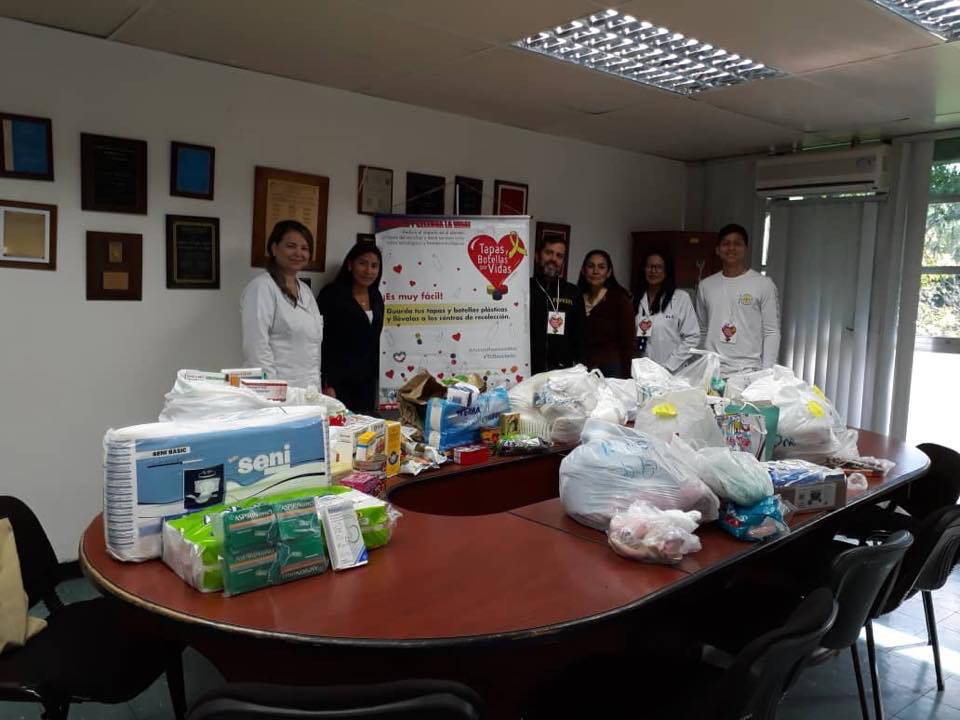 Fundación Botellas y Tapas por Vidas. Foto: Cortesía