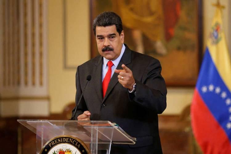 Nicolás Maduro y su ley antibloqueo. Foto: Cortesía