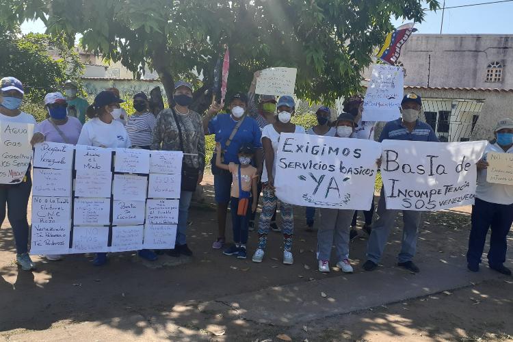 Protesta en Ciudad Guayana / Foto TAH