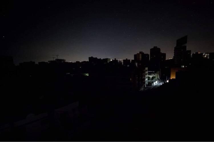 Imagen cortesía. Reportaron zonas sin luz la noche de este miércoles