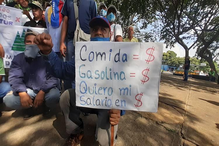 Imagen Todos Ahora. Trabajadores de Bolívar exigen mejores beneficios laborales