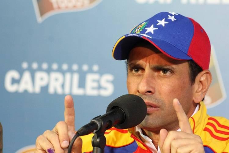 Imagen cortesía. Henrique Capriles