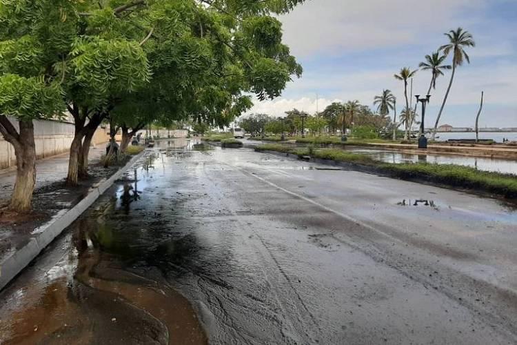 Imagen cortesía. Reportaron petróleo en las calles de Cabimas, desde el pasado 18 de septiembre