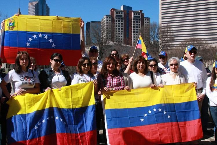 Imagen cortesía. Guaidó se reunió este miércoles con 130 organizaciones de la diáspora venezolana