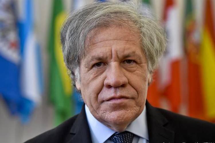 Luis Almagro, secretario general de la Organización de Estados Americanos.   Foto: referencial