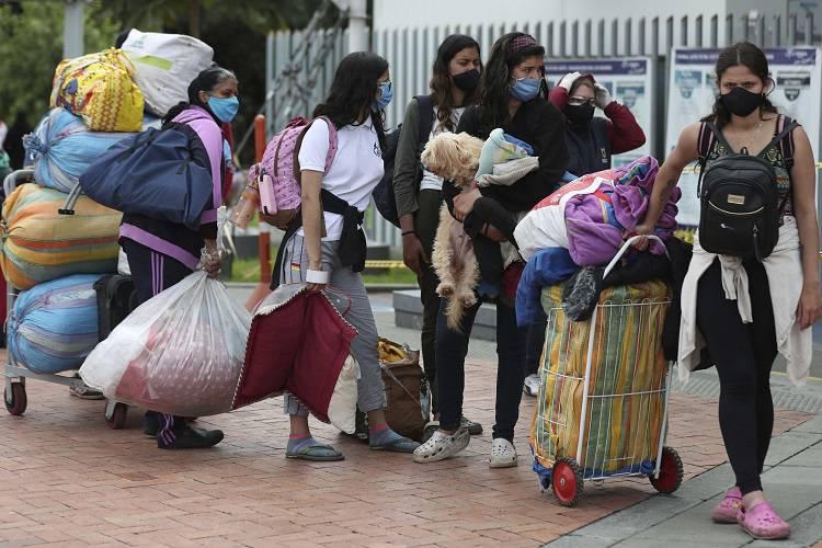 Imagen cortesía. Migrantes venezolanos