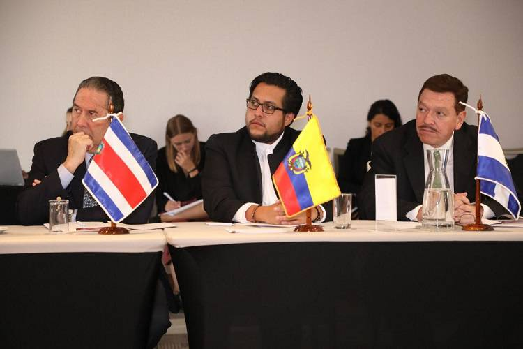 Imagen cortesía. El diputado ecuatoriano Juan Flores celebró las conclusiones de la ONU en la Misión sobre Venezuela