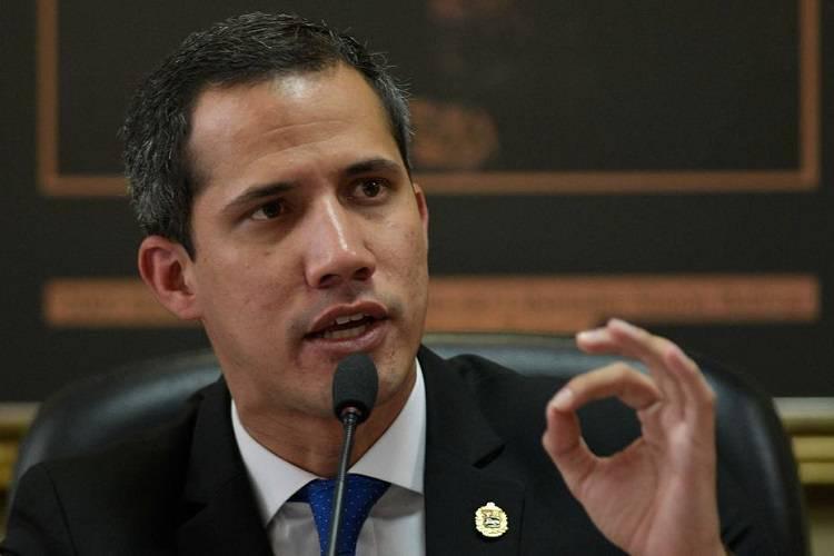 Imagen cortesía. Juan Guaidó llamó a la unión en Venezuela