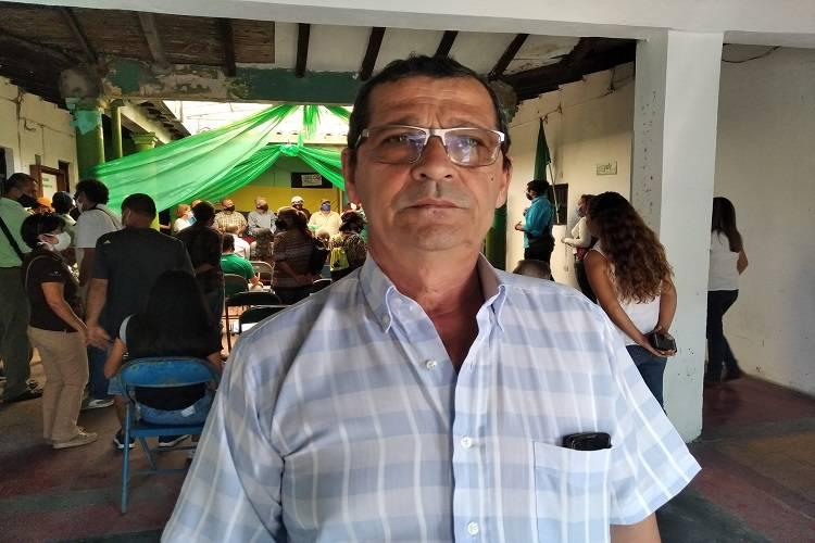 Imagen cortesía. Miguel Ochoa, presidente del Colegio de Profesores de Táchira