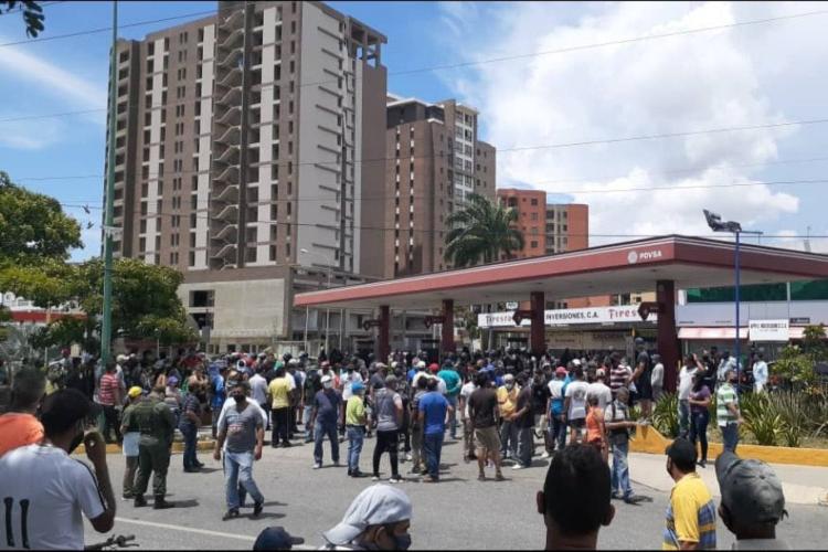 Protesta en Lara / Foto Cortesía