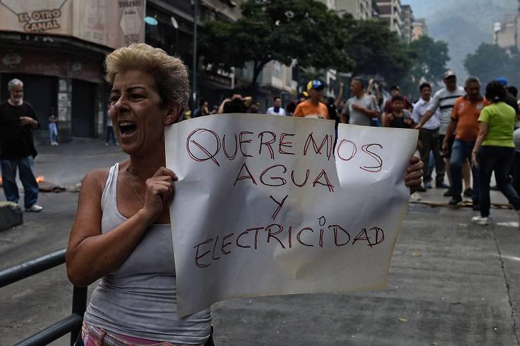 Imagen cortesía. Registraron al menos 47 protestas en Venezuela solo este viernes