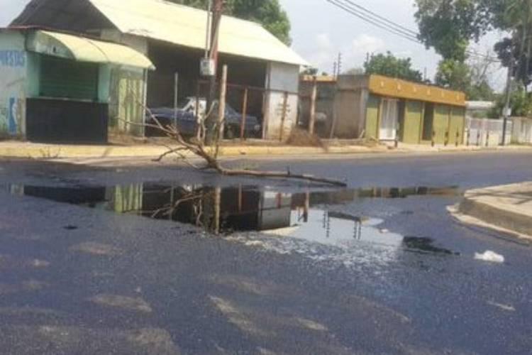 Derrames petroleros en Zulia. Foto cortesía