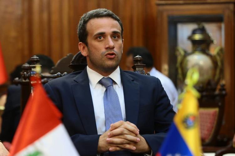 Embajador ante Perú Carlos Scull / Foto Cortesía