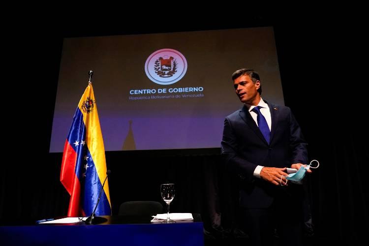 Leopoldo López en Madrid. Foto: Reuters