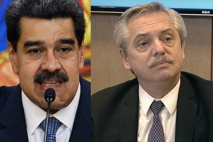 Maduro y Fernández y el deterioro de las relaciones de sus Gobiernos. Foto: Cortesía