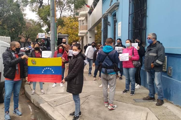 Venezolanos en Argentina. Foto: Venezuela Migrante
