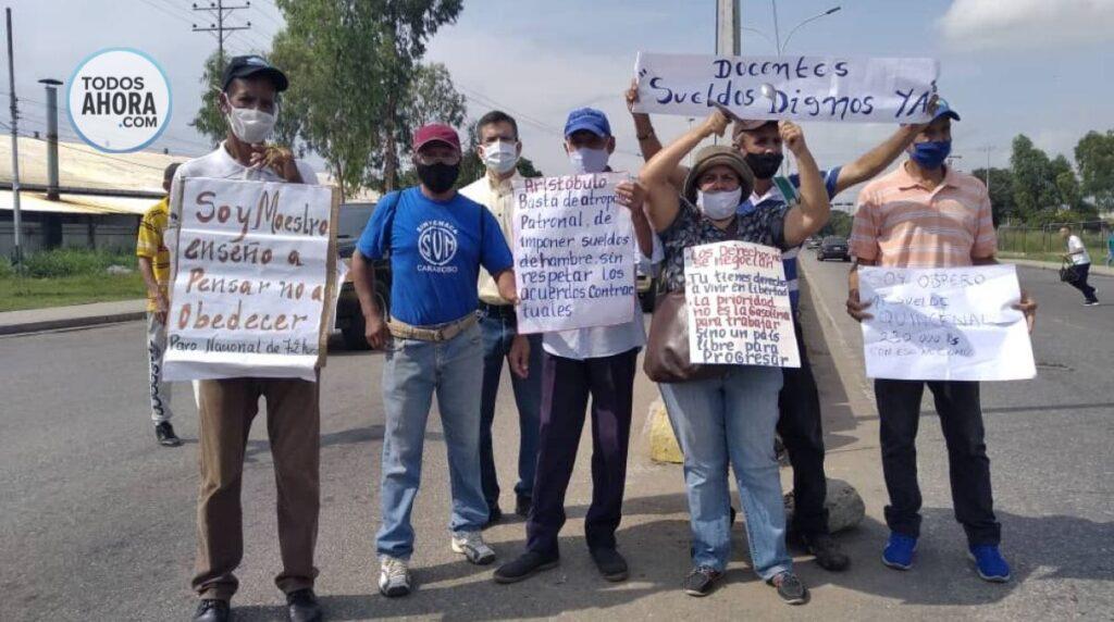 Docentes en Venezuela. Foto: Todos Ahora