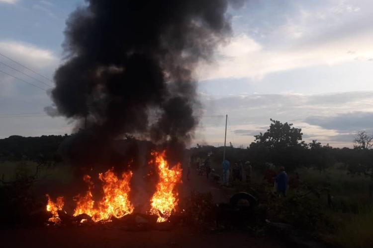 Protesta comunidades indígenas en Amazonas / Foto Cortesía