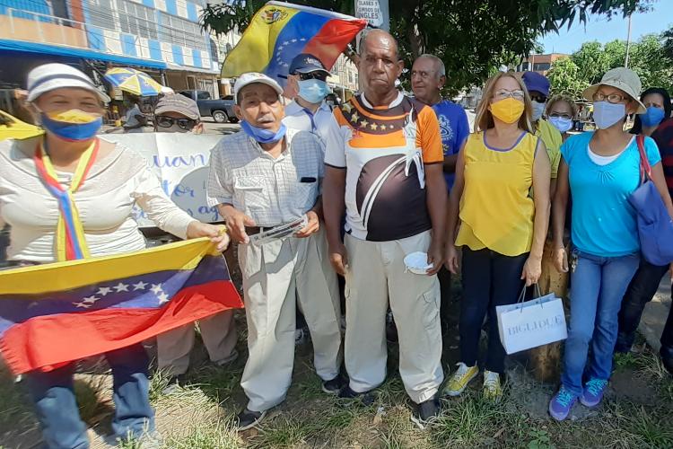 Protesta por servicios básicos / Foto TAH