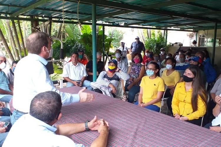 Imagen cortesía. Guanipa recordó las acciones del pueblo de Venezuela para lograr la unidad y la transición