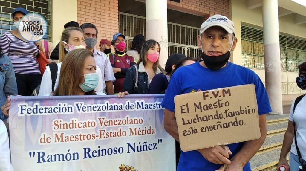 Docentes en Venezuela