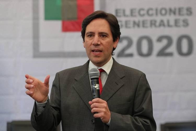 Imagen cortesía. El presidente del Tribunal Supremo Electoral (TSE) de Bolivia, Salvador Romero