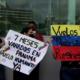 Venezolanos varados en Panamá / Foto Cortesía