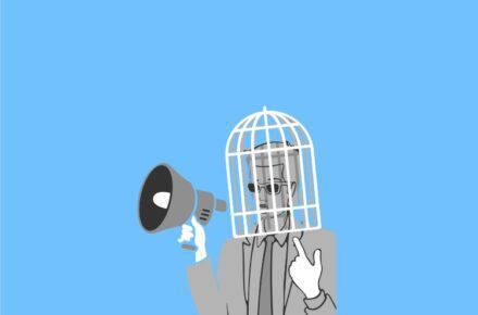 Autocensura en Venezuela. Foto: Composición Todos Ahora