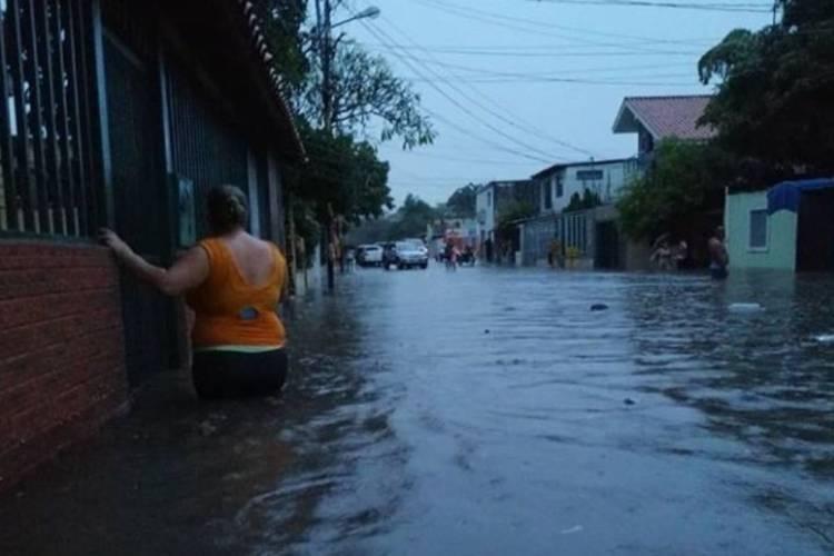 Inundaciones en Lara. Foto: Cortesía