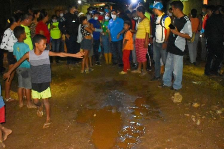 Carúpano, estado Sucre, afectado por inundaciones. Foto: Cortesía