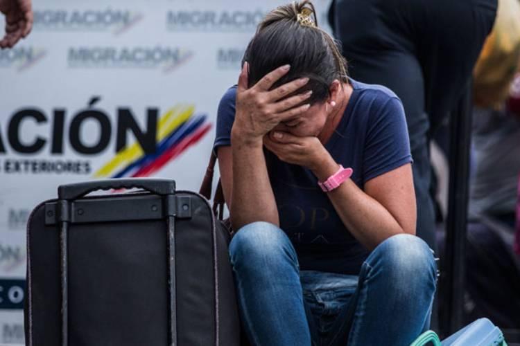 Crisis en Venezuela. Foto: Cortesía