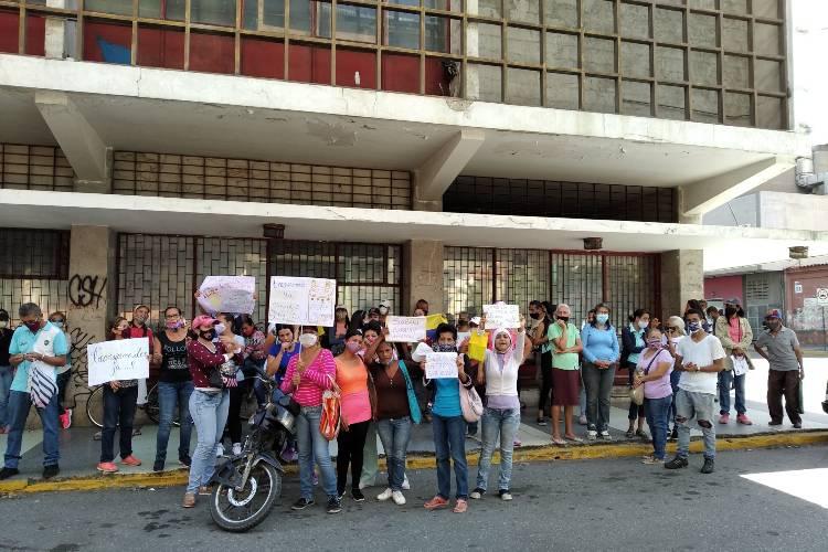Protestaron en El Cují, estado Lara. Foto: María Márquez. Todos Ahora