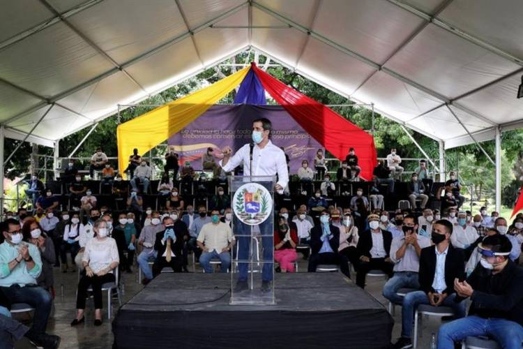 Consulta popular que impulsa Juan Guaidó. Foto: Cortesía