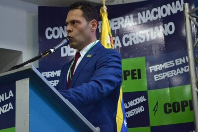 Juan Carlos Alvarado, secretario general de Copei