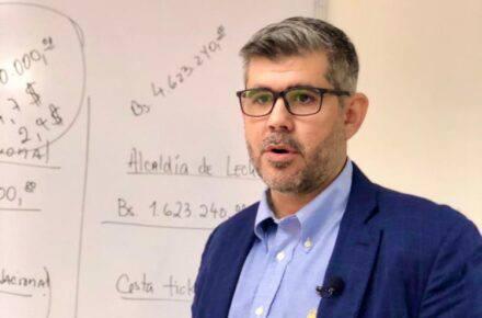 Manuel Ferreira, alcalde de Lechería
