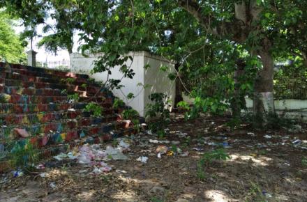 Espacios públicos y parques de Barquisimeto en abandono / Foto TAH