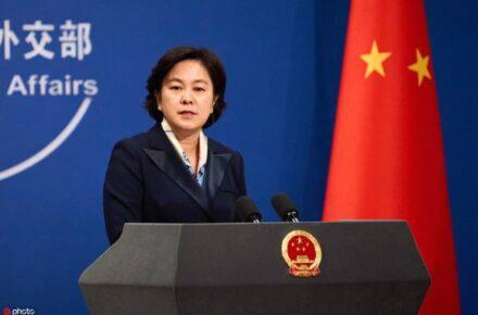 Hua Chunying, portavoz del Ministerio de Asuntos Exteriores de China