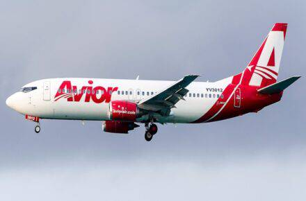 Avior Airlines / foto referencial