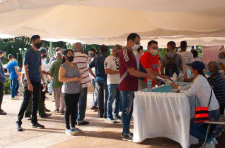 Consulta popular en Anzoátegui. Foto: Centro de Comunicación Nacional