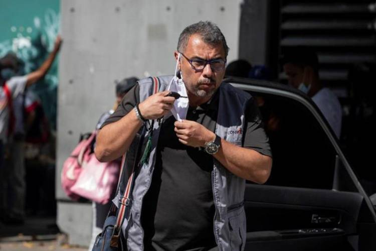 Director de Convite fue trasladado a declarar el 15 de diciembre ante funcionarios de seguridad. Foto: EFE