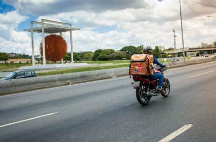 Entregados, una opción de delivery en Caracas. Foto: Cortesía