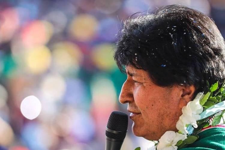 Evo Morales, expresidente boliviano. Foto: Instagram