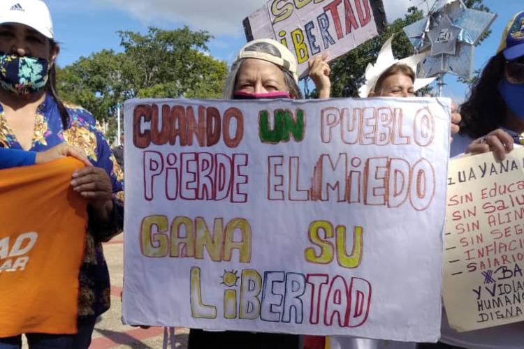 Gremio de trabajadores Ciudad Guayana - Bolívar / Foto TAH