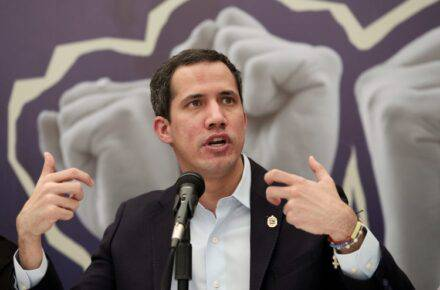 Juan Guaidó, presidente encargado de Venezuela. Foto: Centro de Comunicación Nacional