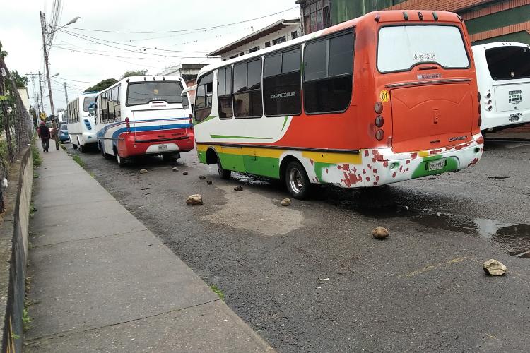 Transporte público en Táchira / Foto TAH