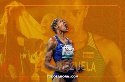 Yulimar Rojas podría convertirse en la Atleta Femenina del 2020. Foto: Composición Todos Ahora