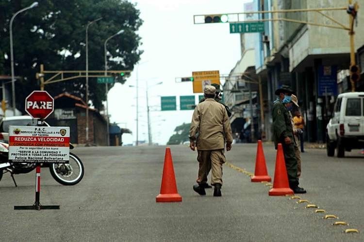 Alcabalas en Táchira. Foto: Diario Los Andes