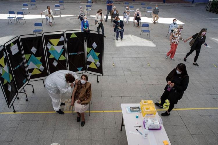 Vacunación masiva en Chile