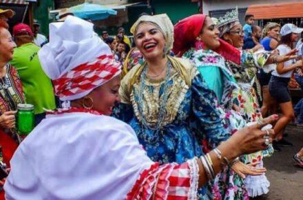 Carnavales de El Callao, en el estado Bolívar. Foto: Cortesía