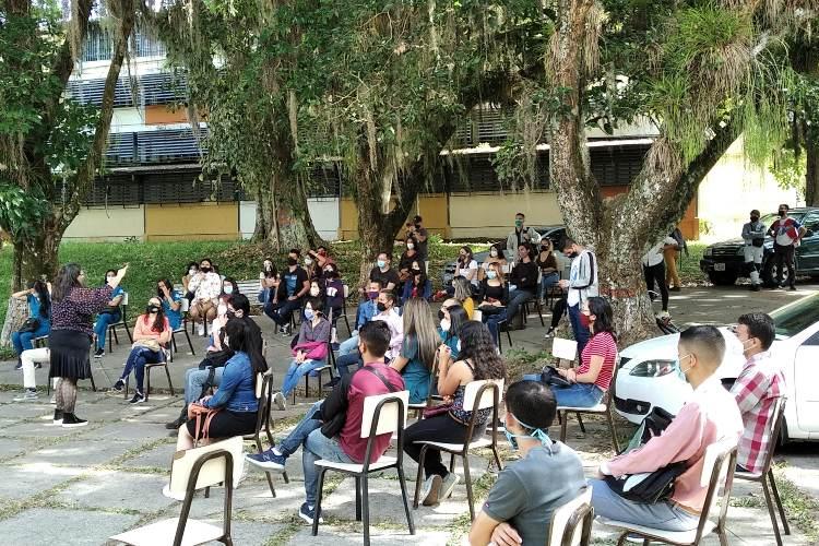 Clase magistral en la ULA. Foto: Sandy Zambrano. Todos Ahora